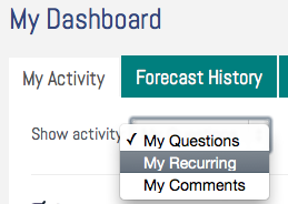 My Recurring